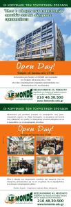 Le Monde_Open Day