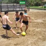 Η ομάδα ποδοσφαίρου μας το καλοκαίρι...
