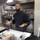 Ο γνωστός chef και απόφοιτος της σχολής, κ. Ανδρέας Λαγός, παραδίδει σεμινάρια μαγειρικής