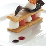 κρητικός ντάκος σε ευρωπαϊκό food styling