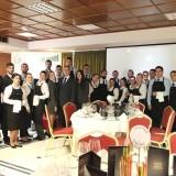 Ομάδα σπουδαστών μετά την επιτυχημένη παρουσία της σε πραγματικό event που έλαβε χώρα στη σχολή